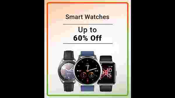 Up to 60% Off On Smart Watches