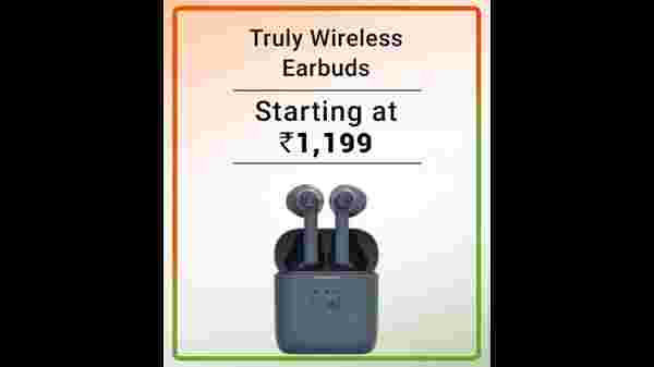 Up to 80% Off On Truly Wireless Earbuds